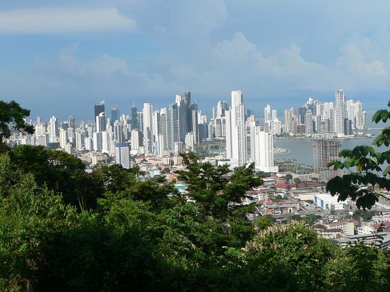 RESIZED Modern Panama City from Cerro Ancon