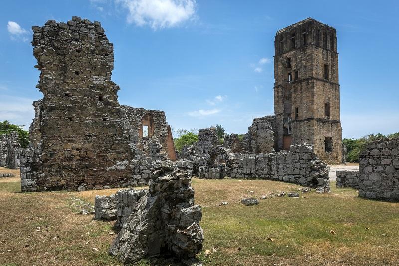 Panama Viejo Ruins Panama City Panama Central America