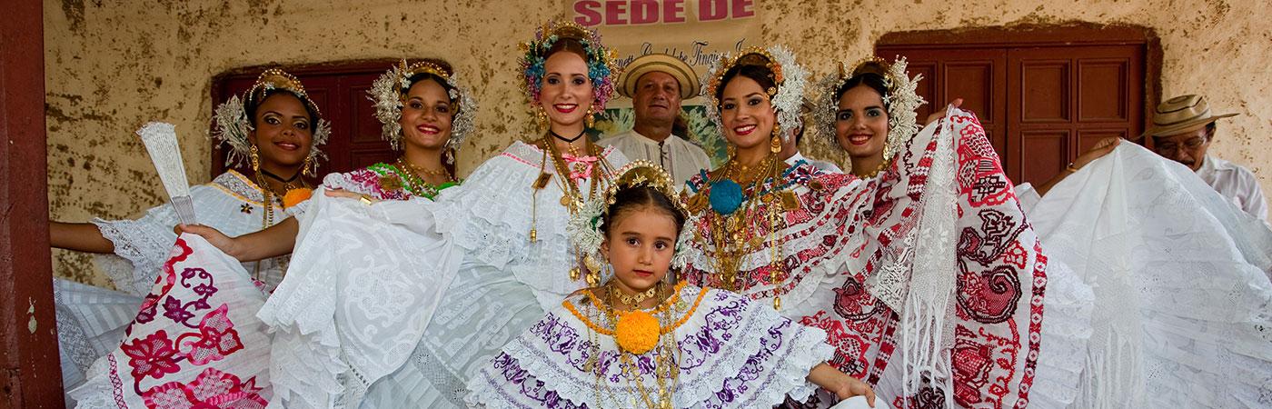 Authentic Polleras - Panama Culture